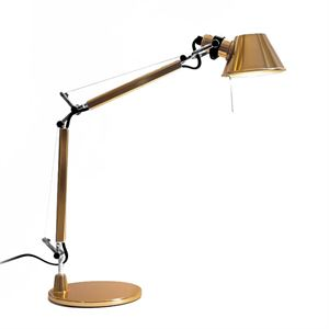 Artemide Tolomeo Micro Tischleuchte Gold Limited Edition