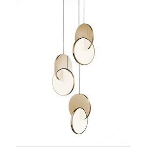 Lee Broom Eclipse Pendel 3 Stk Gold