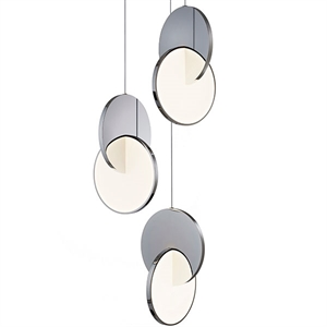 Lee Broom Eclipse Pendel 3 Stk Chrom