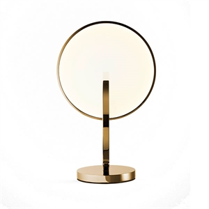 Lee Broom Eclipse Tischlampe Gold