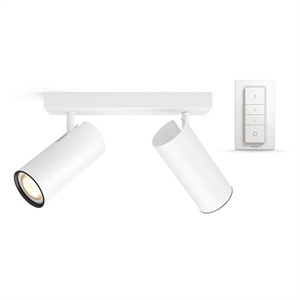 Philips Hue Connected Buratto 2-Spot in Weiß