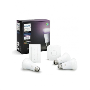 Philips Hue White & Colour Ambiance 9,5W E27 - Starterset