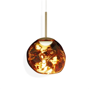 Tom Dixon Melt Pendel LED Gold Klein