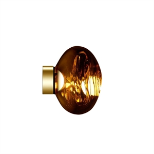Tom Dixon Melt Surface Wand-/Deckenleuchte LED Gold Klein