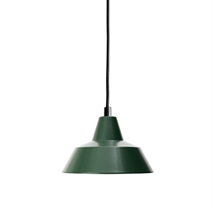 Made By Hand Werkstattlampe Pendel Racing Green W1