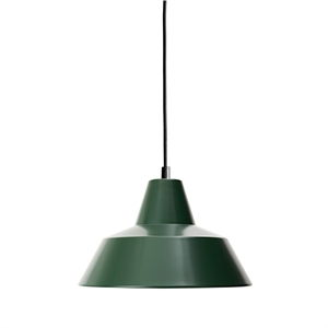 Made By Hand Werkstattlampe Pendel Racing Green W2
