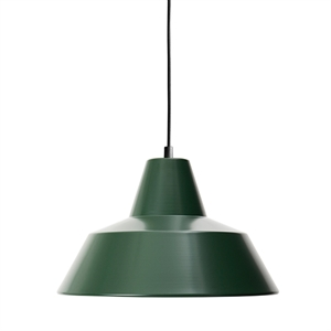 Made By Hand Werkstattlampe Pendel Racing Green W3