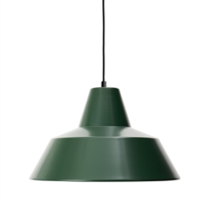 Made By Hand Werkstattlampe Pendel Racing Green W4