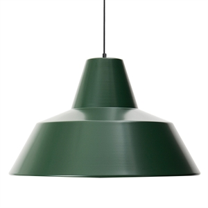Made By Hand Werkstattlampe Pendel Racing Green W5